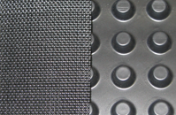 Drain Board with Woven Geotextile