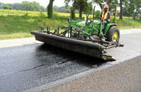 Asphalt Overlay at Work