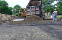 laying out Geogrid